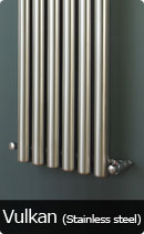 Radiators Room Pipe Vulkan Stainless Steel